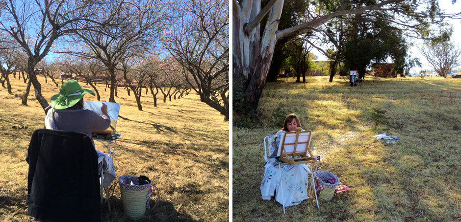 Plein Air Painting Experience
