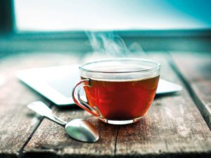 Tea time is a time to slow down...